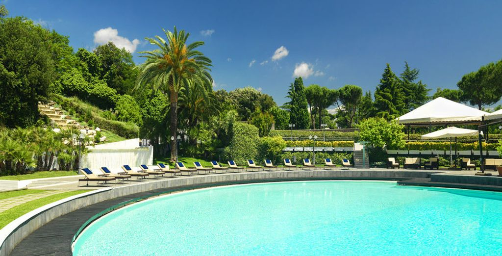 Such as this wonderful pool, open during the summer months