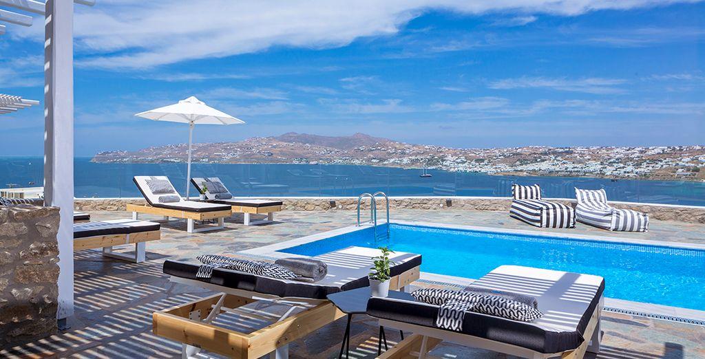 Take a dip in the panoramic pool