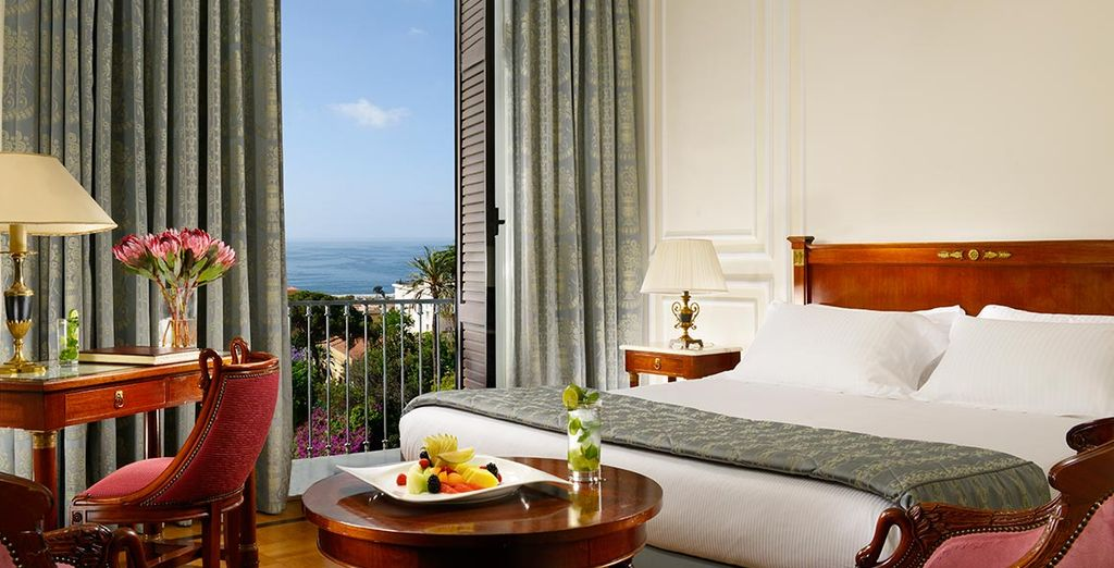 Stay in a Deluxe Sea View Room