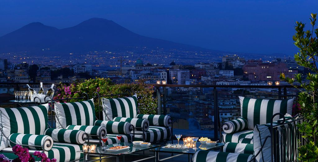 Followed by a cigar or cocktail with panoramic views