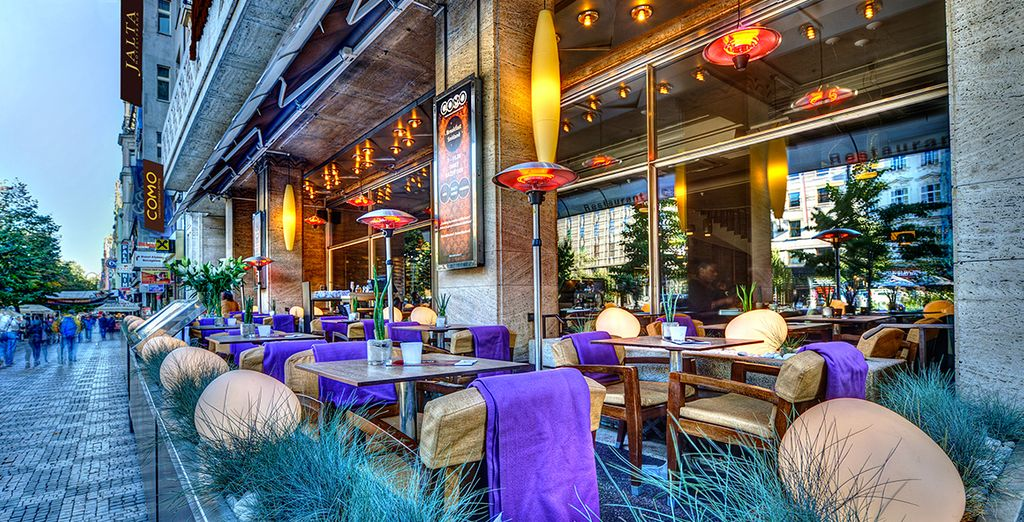 Don't miss the hotel's stylish COMO Restaurant which draws a fashionable crowd