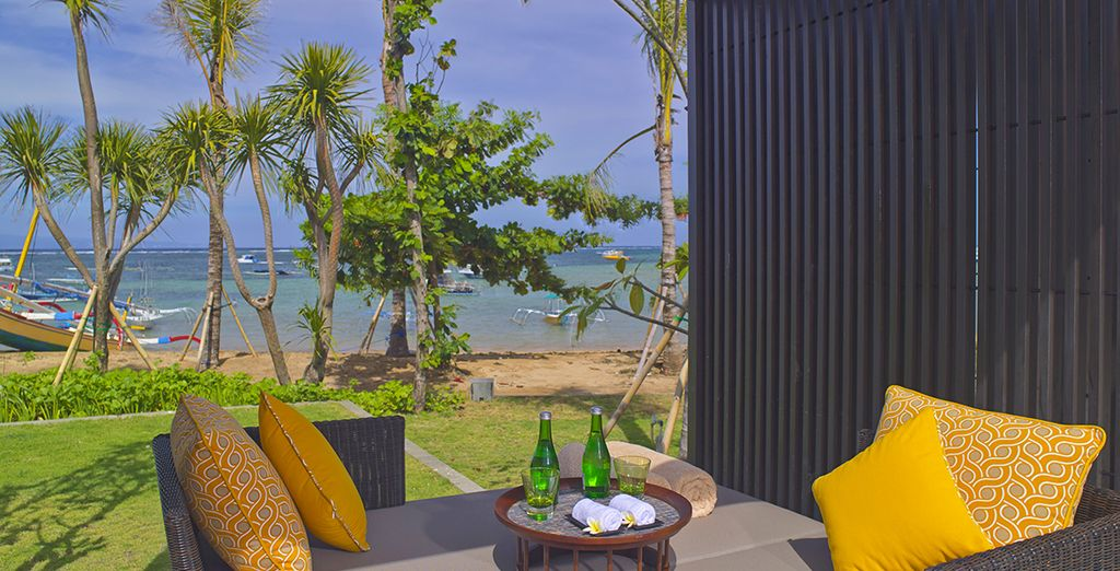 Next you will be whisked away to the beaches of Sanur