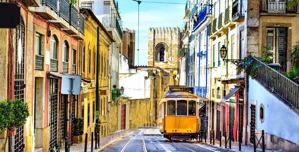 Explore the cosmopolitan city of Lisbon
