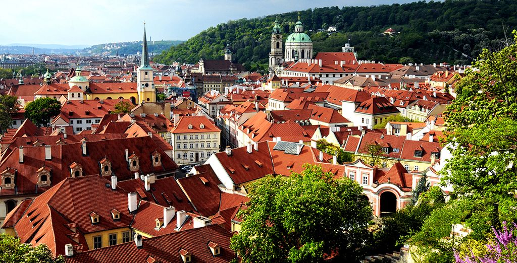 Prague is one of the world's most beautiful cities
