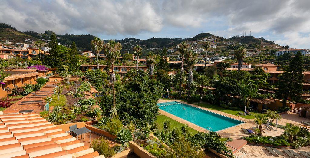 Explore the hotel's amazing gardens...