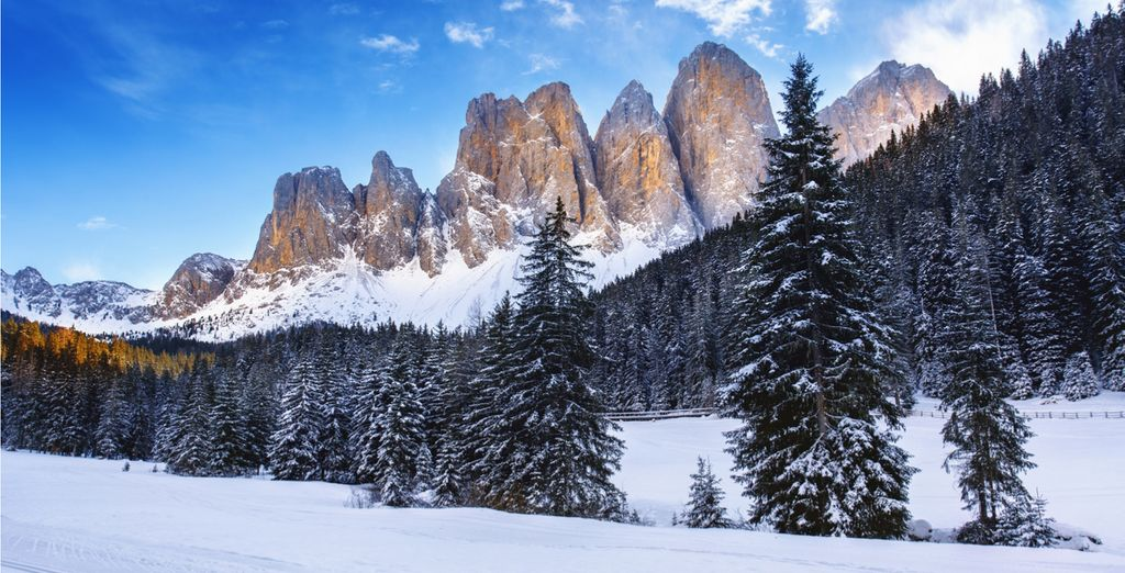 Surrounded by the stunning scenery of South Tyrol