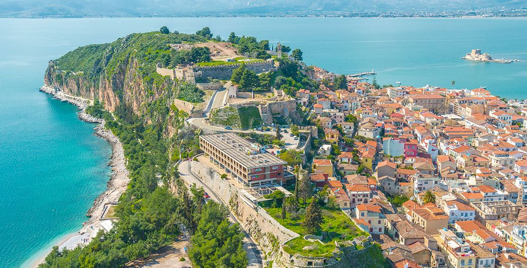 The town of Nafplio