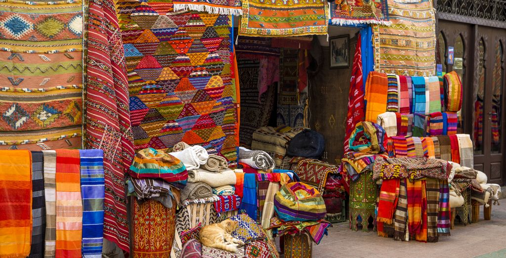 Its colourful markets filled with spices and textiles