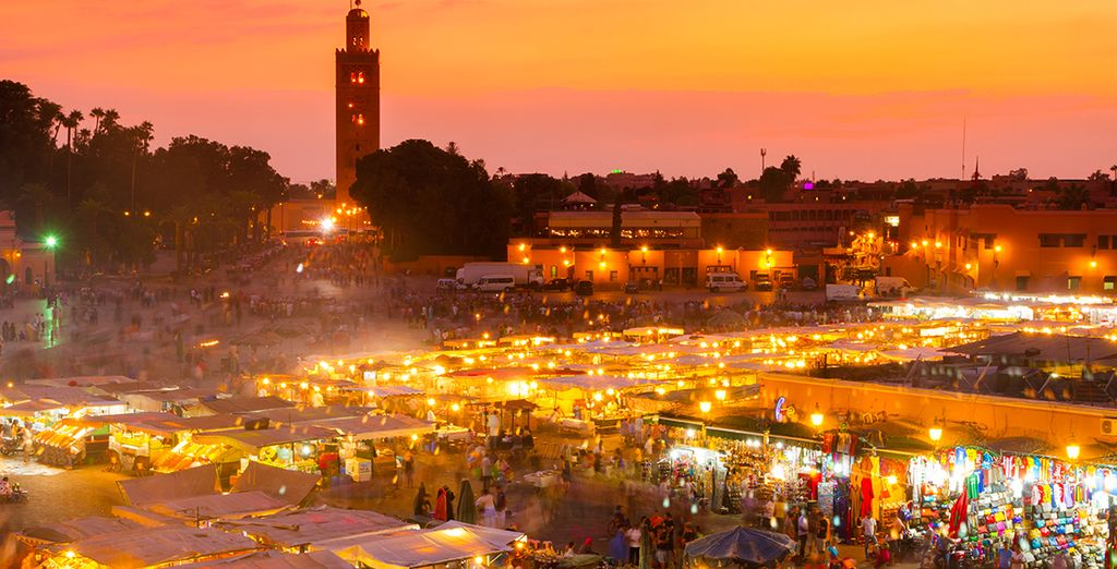 On your unforgettable journey to Marrakech
