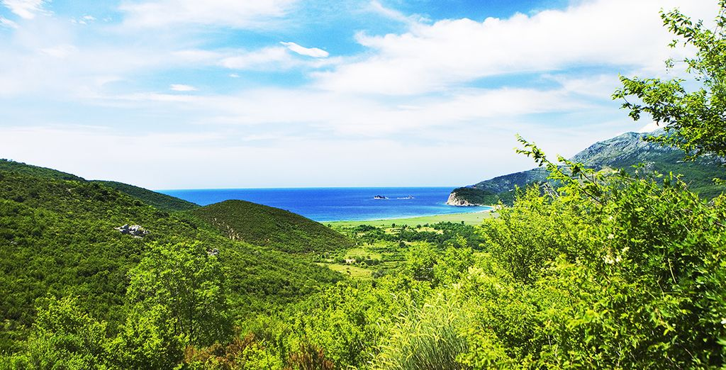 And facing the Bay of Buljarica