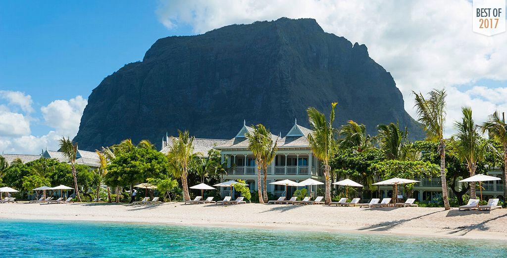 Soak up some sun at the stunning St Regis Mauritius 5*
