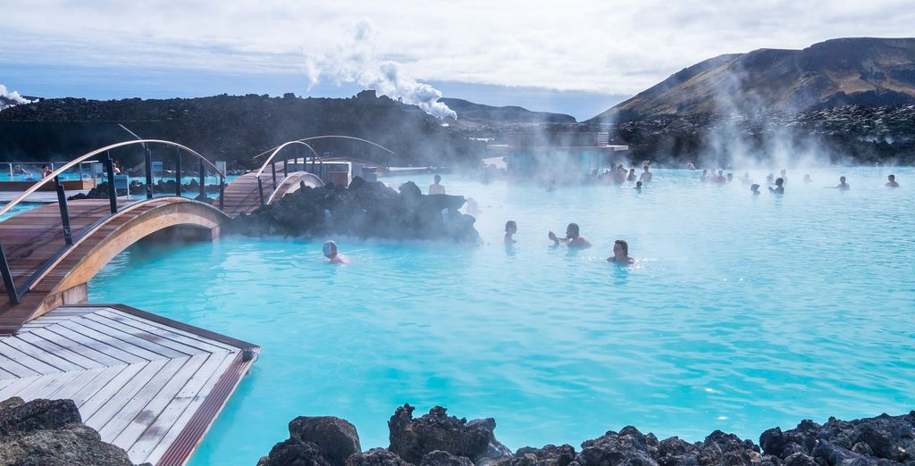 On the fourth day you can choose to unwind at the Blue Lagoon