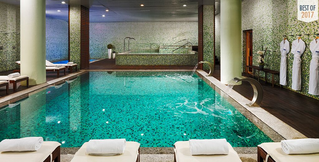 Spend a day relaxing in the spa