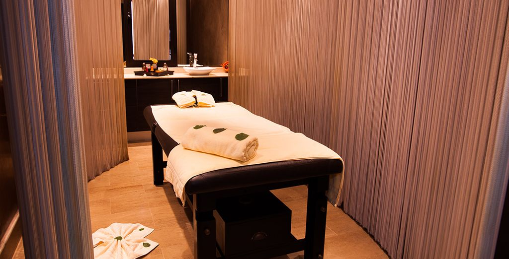 With expert massages and treatments available