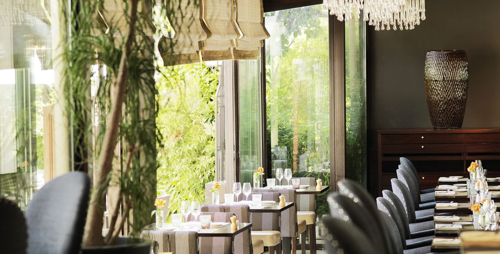The Bistrot Terrace serves fantastic French cuisine