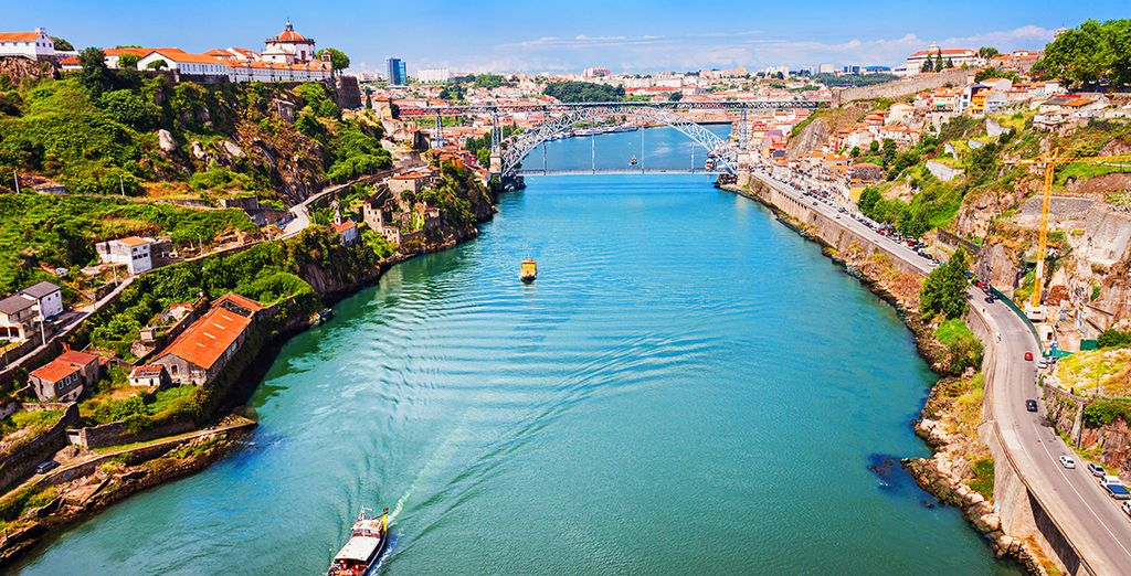 Located on the banks of the Douro River
