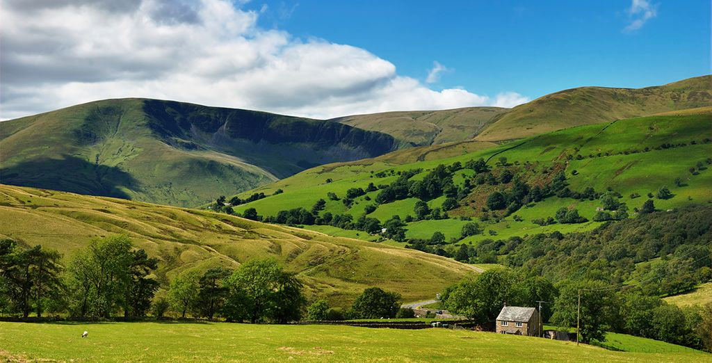 ...And the emerald hills of the Yorkshire Dales