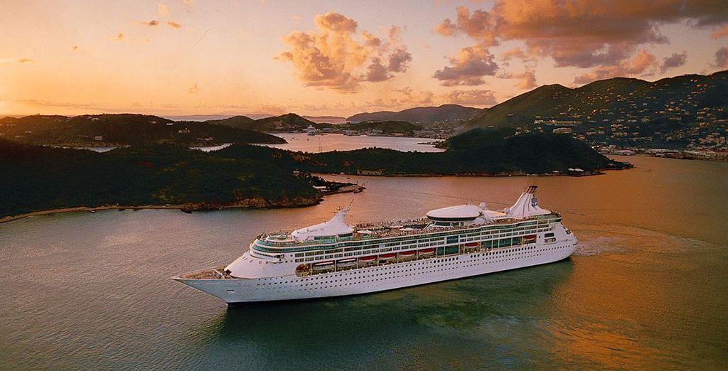 All aboard the Rhapsody of the Seas!