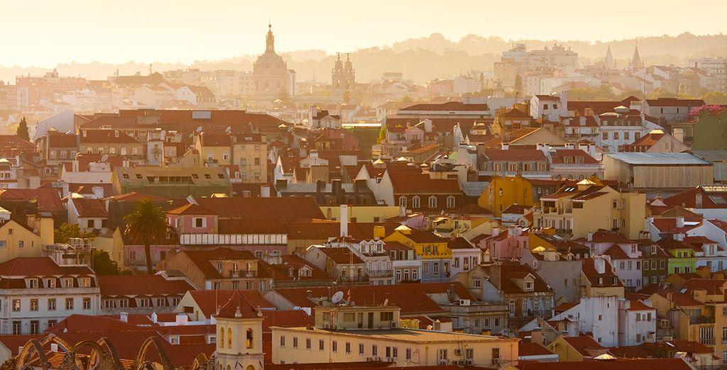 As you discover Lisbon!