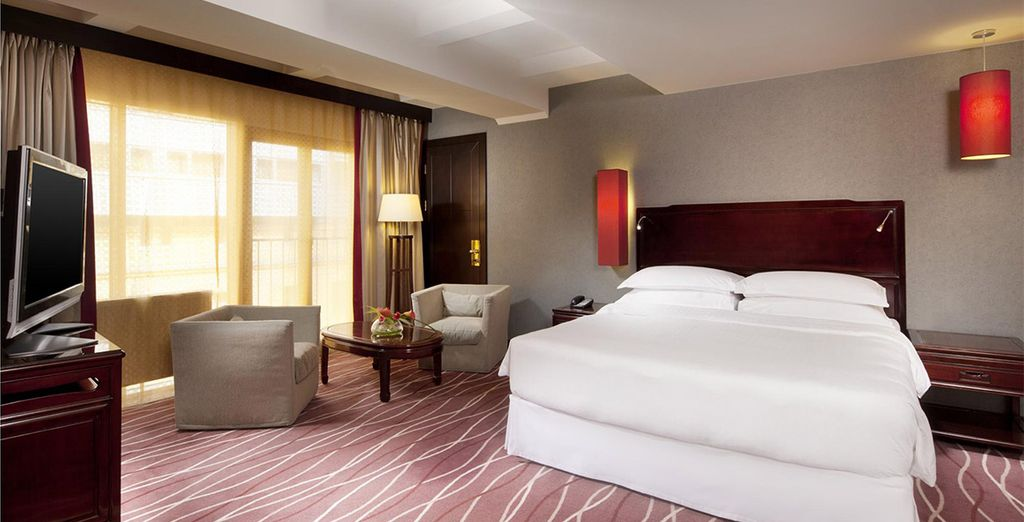Or choose a Junior Suite for even more space