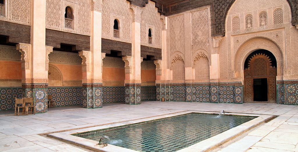 And stop at the Ben Youssef Madrasa