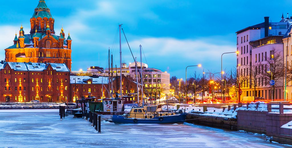 Discover a winter wonderland