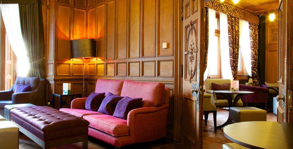 Featuring original 19th Century French Decorative interiors