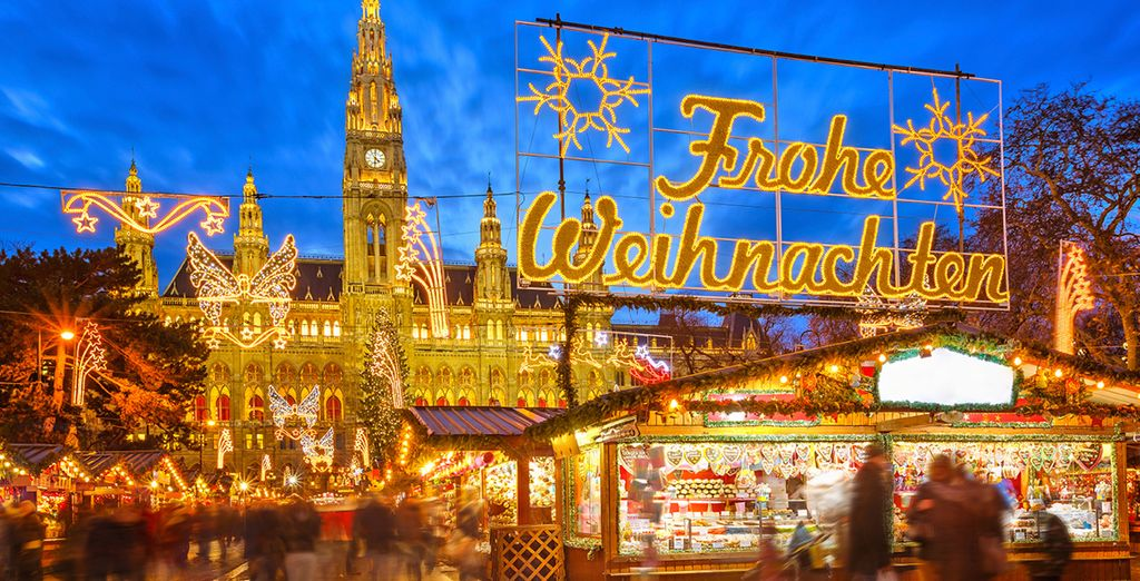 Don't miss the wonderful Christmas markets, for guaranteed delight!