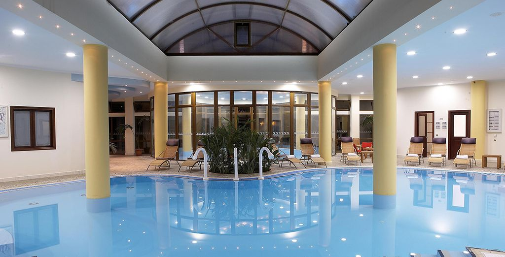 With one free entry to the gorgeous Thalasso spa