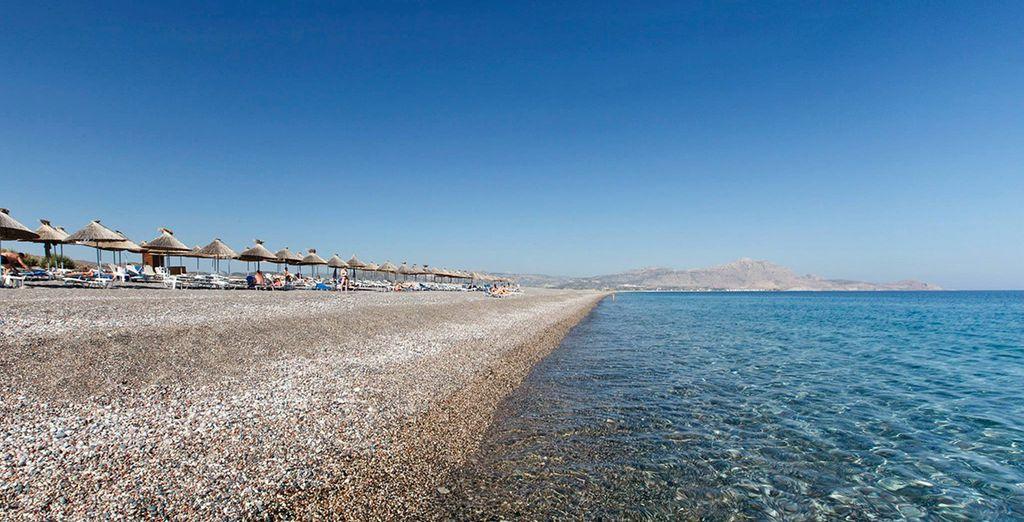 Stay close to the beautiful 4km beach