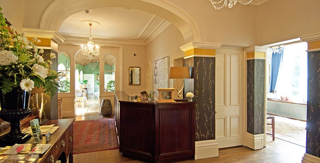 Step into this charming hotel
