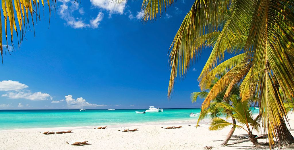 The beaches of Punta Cana impress you
