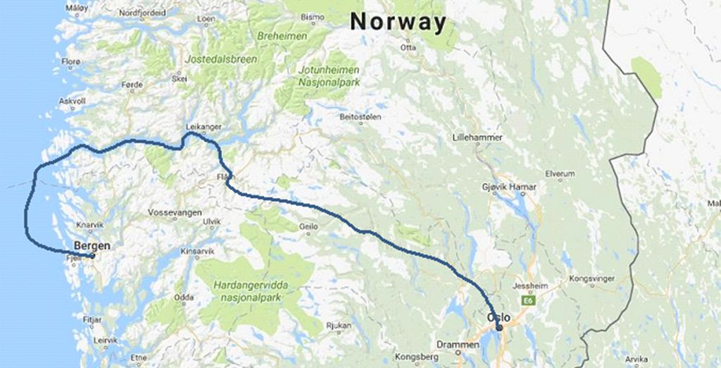 Your route will take you on a magical adventure through the Fjords