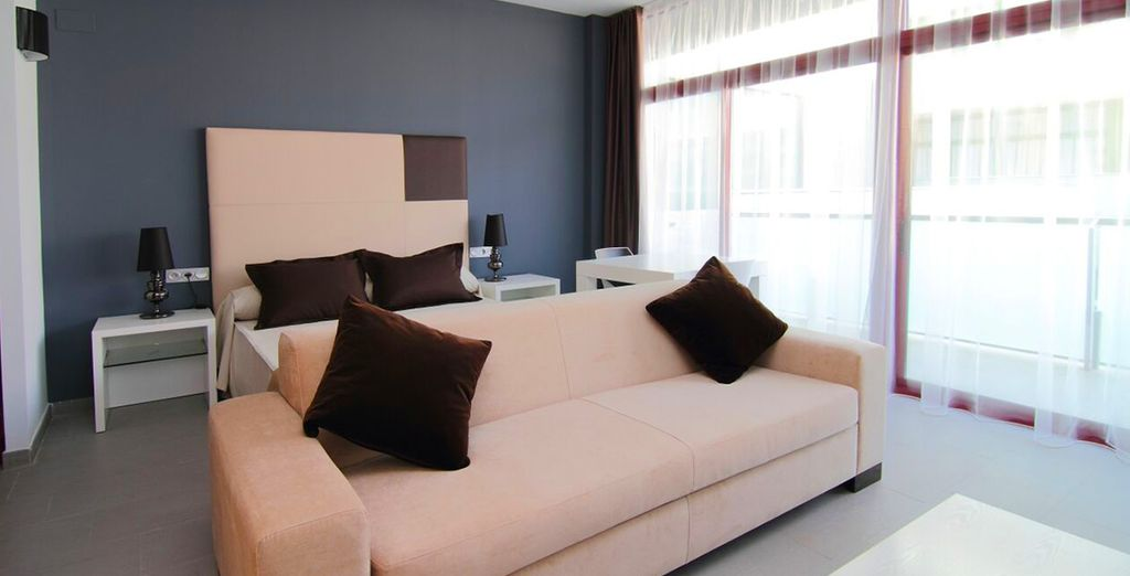 Where our members may choose from a Standard Room