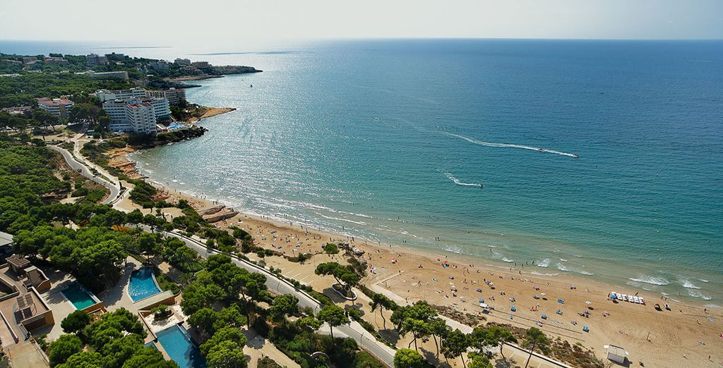 In the seaside town of Salou