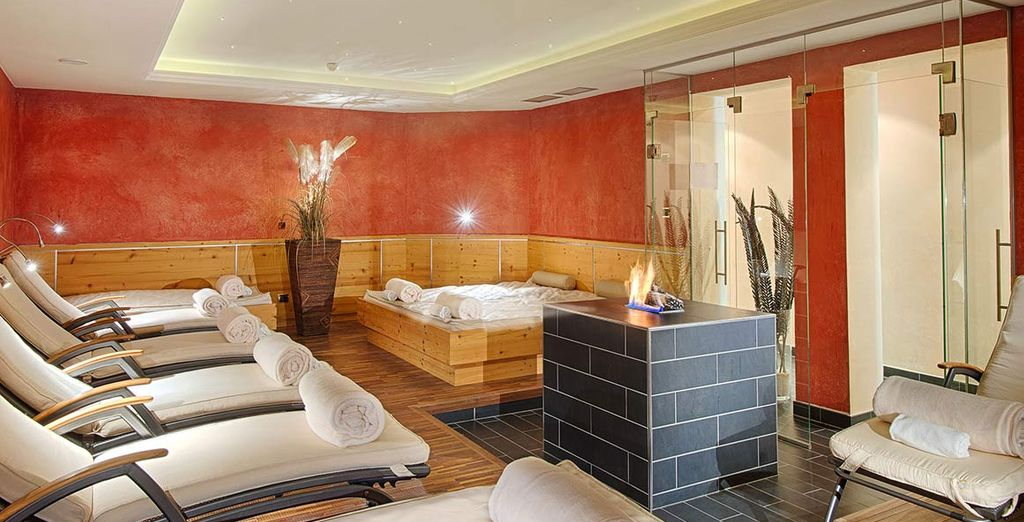 Unwind in one of the Relaxation Rooms