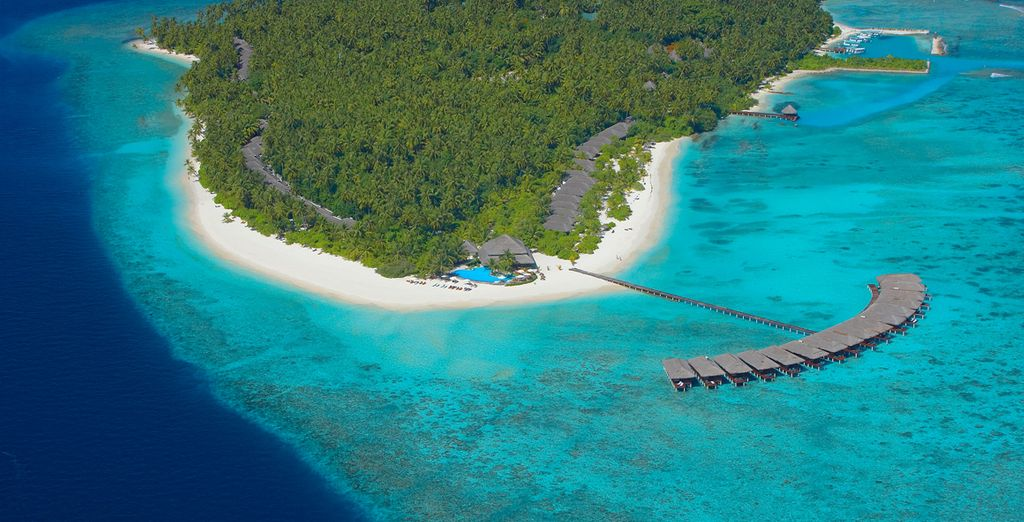 The only resort on Faafu atoll