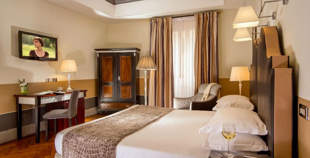 Stay in a sumptuous Deluxe Room