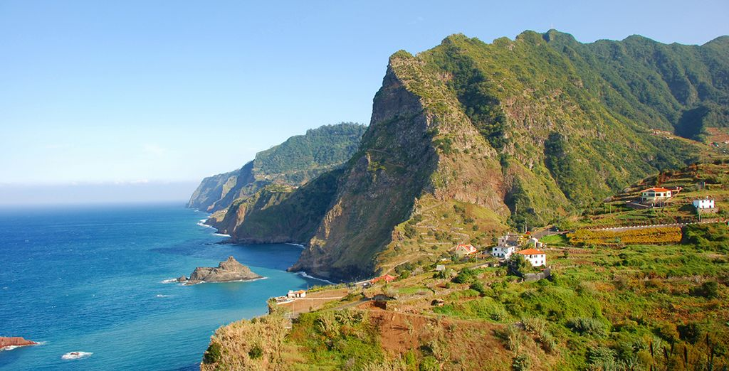 On the stunning island of Madeira