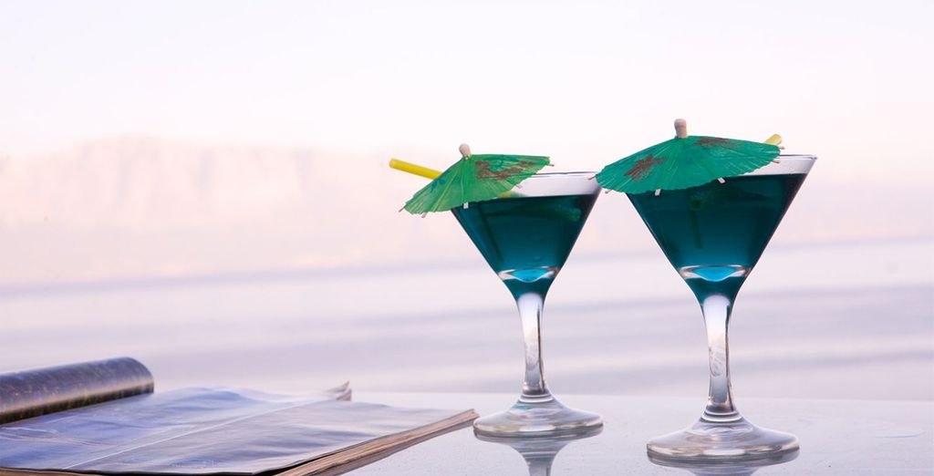 Cool off with a cocktail...