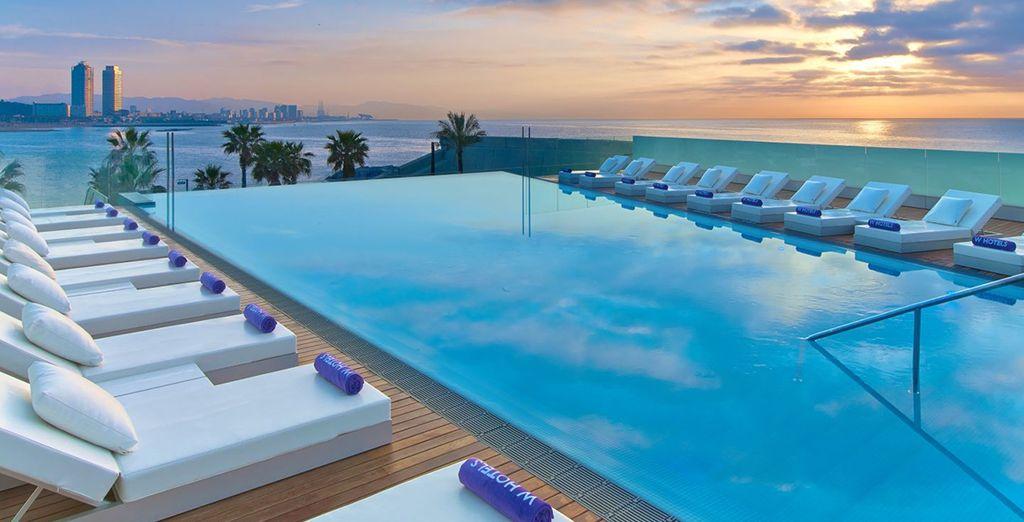 Breathtaking rooftop views