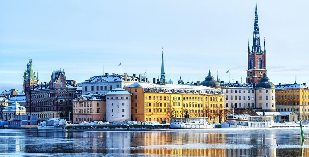The beautiful archipelago of Stockholm