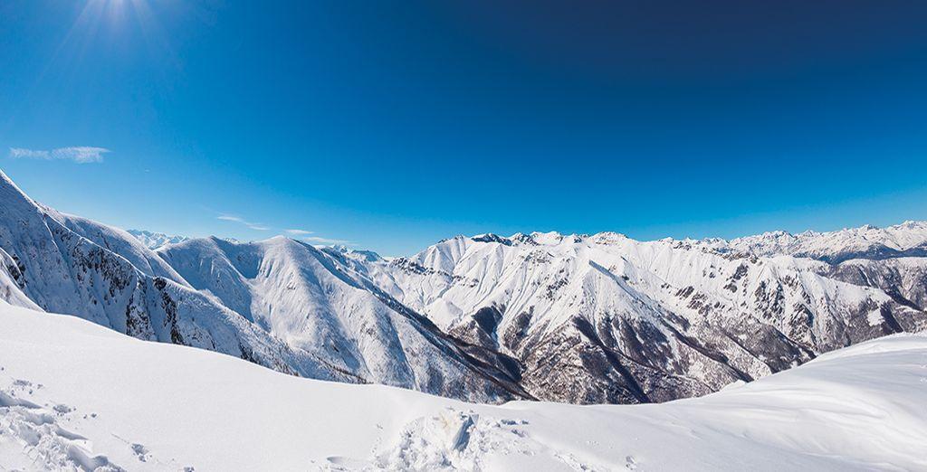An Alpine wonderland awaits