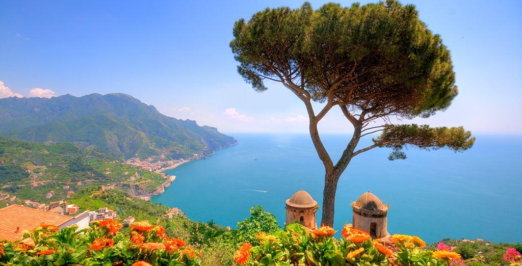 Explore the stunning Amalfi coast