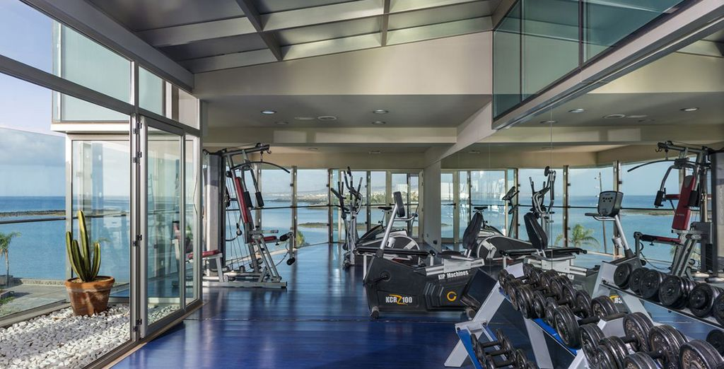 Try out the amazing gym