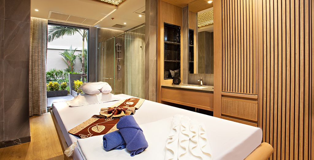 Or retreat to the Sukko Spa, which offers a wealth of relaxing treatments