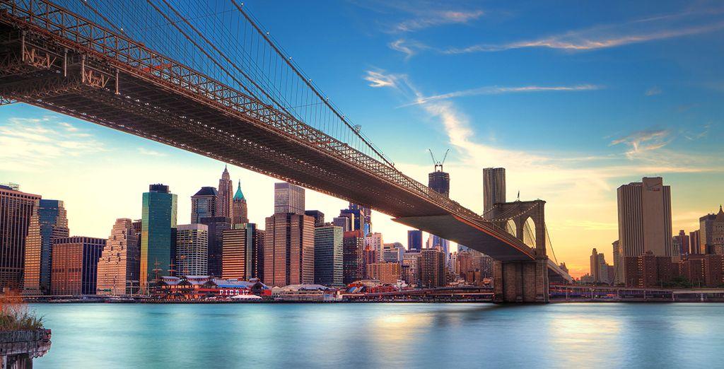 Or cross the bridge into trendy Brooklyn