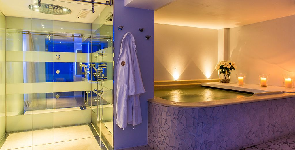 And an amazing spa
