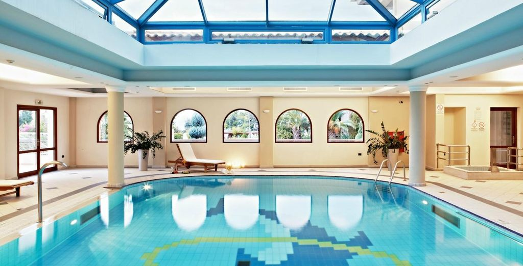 Or cool off in the indoor pool