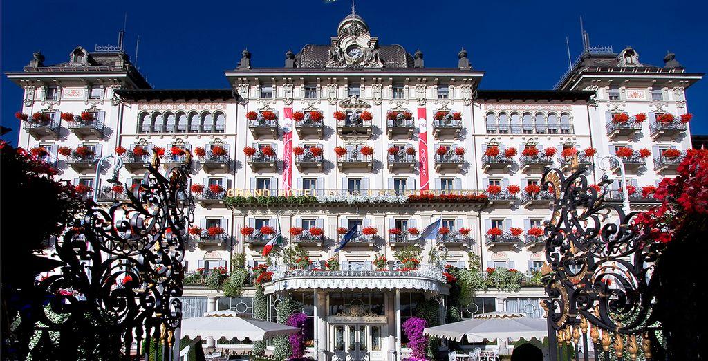 At the Grand Hotel  Des Iles Borromees